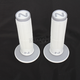 White/Gray Cam Soft/Hard Compound Grips - CD-101