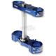 Blue 22mm Triple Tree Clamp - S1417