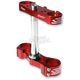 Red Standard Triple Tree Clamp - S2417