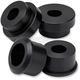 Black Anodized Solid Riser Bushing Kit - 003339