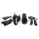Black Full Replacement Plastic Kit - 2253040001