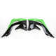 Black/Green Radiator Shrouds - 2250431089