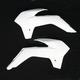 White KTM Radiator Shrouds - KT04042-041