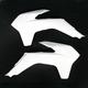 White KTM Radiator Shrouds - KT04052-041