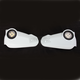 White Vision Handguards - 2367700002