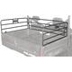Black Powder-Coated Bed Rails - 0521-1125