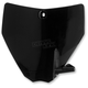 Black Front Number Plate - 2393370001