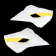 OEM 15 White/Yellow Radiator Shrouds - 2392411070