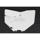 White Front Number Plate - KT04063-047