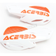 White/Orange Vented Uniko Handguards - 2072671088
