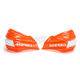 Orange/White X-Factor Handguards - 2374195321