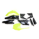 Fluorescent Yellow/Black Full Replacement Plastic Kit - 2198035137