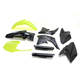 Fluorescent Yellow/Black Full Replacement Plastic Kit - 2198045137