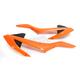 Orange/Black Radiator Shrouds - 2421085225