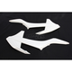 White Radiator Shrouds - 2421080002