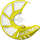 Yellow/White X-Brake 2.0 Vented Front Disc Cover - 2449491070