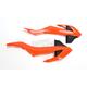 KTM Orange Radiator Covers - KT04073-999