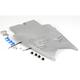 Superbike Rear Silver Undertail Fender Eliminator - S03GS-SB-SIL
