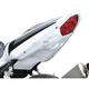 Superbike Rear White Undertail Fender Eliminator - S03GS-SB-WHT