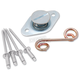 Fiberglass Flush Style Self-Ejecting Kit w/Springs - 9061-50B