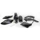 Black Complete Body Kit - HOKIT112B-001