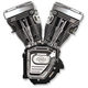 T111 Long-Block Engine - Replaces Twin Cam Engine - 310-0770
