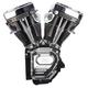 T143 Long Block Engine w/Black Fins - 310-0737