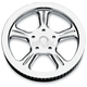 Image Wrath Chrome-Forged Aluminum Pulley - 0093-0570WRAL