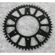 Black Anodized Rear Works Triplestar Aluminum Sprocket - 5-355952BK