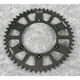 Black Anodized Rear Works Triplestar Aluminum Sprocket - 5-357749BK