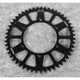 Black Anodized Rear Works Triplestar Aluminum Sprocket - 5-357751BK