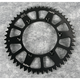 Black Anodized Rear Works Triplestar Aluminum Sprocket - 5-359251BK