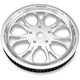 Chrome Paramount Aluminum Pulley - 0093-6066PARLCH