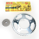X-Ring Chain and Sprocket Kit - 530 Conversion - DKY-002