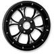 Black/Chrome Majestic Eclipse Rear Pulley (Non-ABS) - 702R2K-102E-8