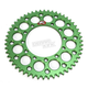Green Kawasaki 52 tooth Aluminum Sprocket - 191U-420-52GEGN