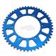 Blue Works Aluminum  Rear Sprocket - 5-359248BL