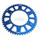Blue Works Aluminum  Rear Sprocket - 5-359250BL