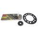 Natural Honda 525XSO Chain and Sprocket Kit - 1062-010E