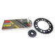 Natural Honda 525XSO Chain and Sprocket Kit - 1062-030E