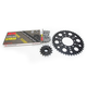 Natural Kawasaki 520 XSO Chain and Sprocket Kit  - 2068-050E