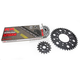 Natural Kawasaki 525 GXW Chain and Sprocket Kit  - 2108-040E