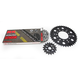 Natural Kawasaki 525 GXW Chain and Sprocket Kit  - 2108-060E