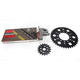 Natural Kawasaki 525 GXW Chain and Sprocket Kit  - 2108-080E