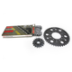Natural Kawasaki 530 GXW Chain and Sprocket Kit  - 2127-010E
