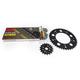 Natural Suzuki 525XSO Chain and Sprocket Kit  - 3076-040E