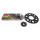 Natural Kawasaki 520XSO Quick Acceleration Chain with Steel Sprocket - 2068-079P