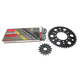 Natural Kawasaki 520GXW Quick Acceleration Chain with Steel Sprocket  - 2108-089P