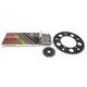 Natural Suzuki 520GXW Quick Acceleration Chain with Steel Sprocket  - 3076-069P