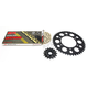 Gold Suzuki GB520GXW Acceleration Chain with Steel Sprocket - 3076-119PG